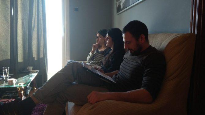 Ruben Serrano, Cristina Raya, Diana Roig